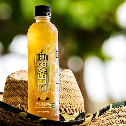 Elev8 Hemp's CBD Infused Lemon Iced Tea (12 Pack)